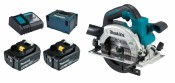 Makita DHS660RTJ 2x 5Ah Batterie + Chargeur + MAKPAC