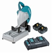 Makita DLW140PT2 2x 5Ah Batterie + DC18RD Chargeur