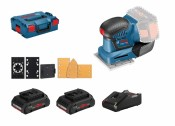 Bosch GSS 18V-10 Professional 2x ProCORE18V 4Ah Batterie